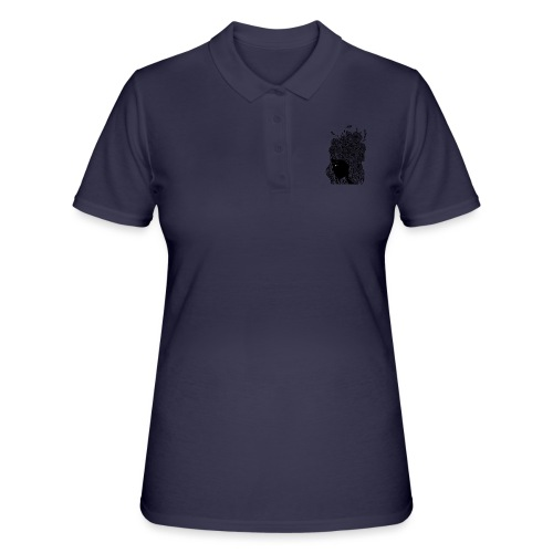 Flower portrait - Women's Polo Shirt