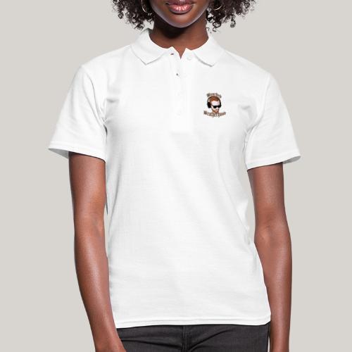 The Bearded Brotherhood w/ Text - Women's Polo Shirt