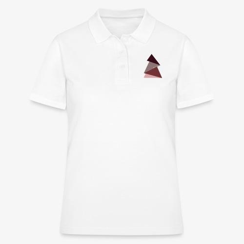 fir triangles 2 - Women's Polo Shirt