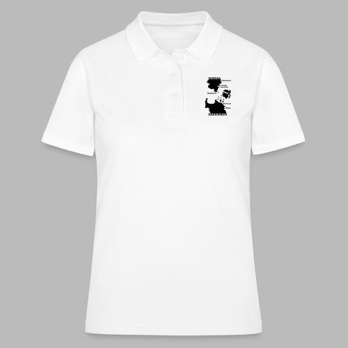 Korsika Sardinien Mori - Frauen Polo Shirt