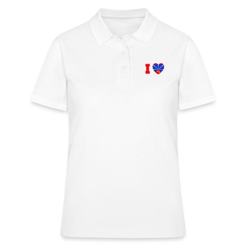 I love 974 - Lo Mahaveli - Women's Polo Shirt