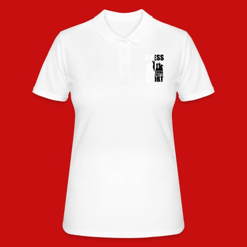 chess_for_red_OK-png - Camiseta polo mujer