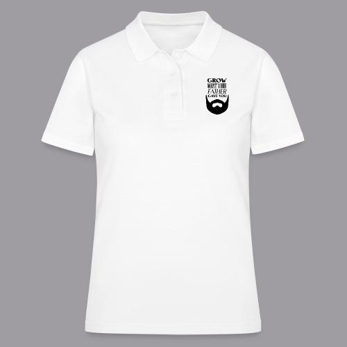 Father Beard Black - Frauen Polo Shirt