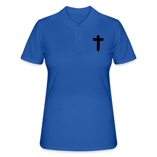 Brushed-Cross - Frauen Polo Shirt