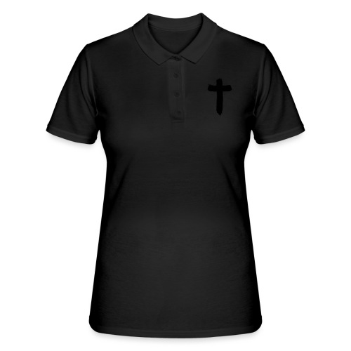Brushed-Cross - Frauen Polo Shirt