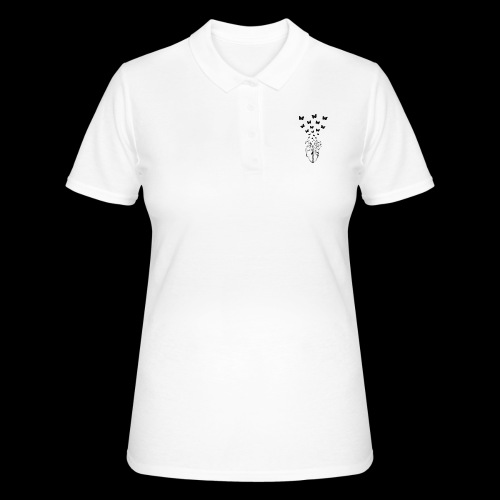 HEART BUTTERFLY - Women's Polo Shirt