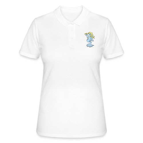10-40 MERMAID, SAVE TO SEA - Merenneito - Women's Polo Shirt