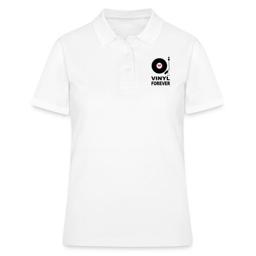 Vinyl Forever T-shirt - Women's Polo Shirt