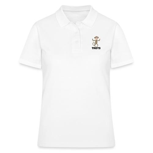 apetrots aapje wat trots is - Women's Polo Shirt