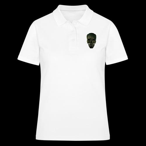 Grim Skull 3D - Women's Polo Shirt