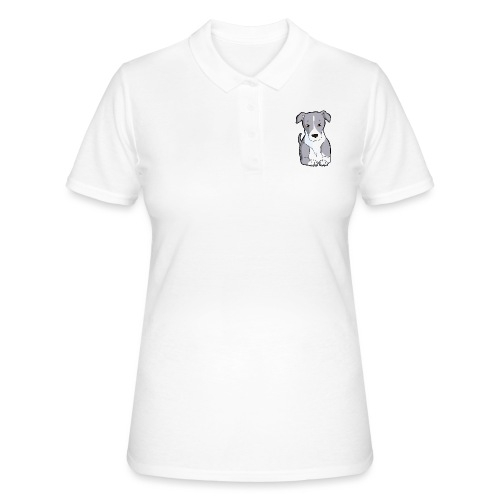 American Staffordshire/Pit bull Pezzato Blu - Women's Polo Shirt