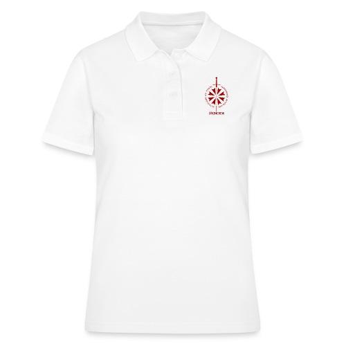 T shirt front M - Frauen Polo Shirt
