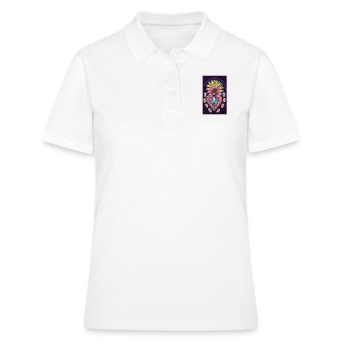 Frida Kahlo inspired Mexican art - Women's Polo Shirt