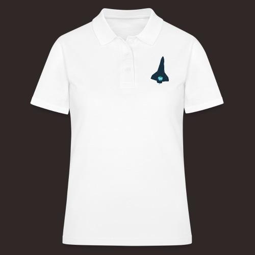 Raumschiff | Rakete Weltall Erde Universum - Frauen Polo Shirt