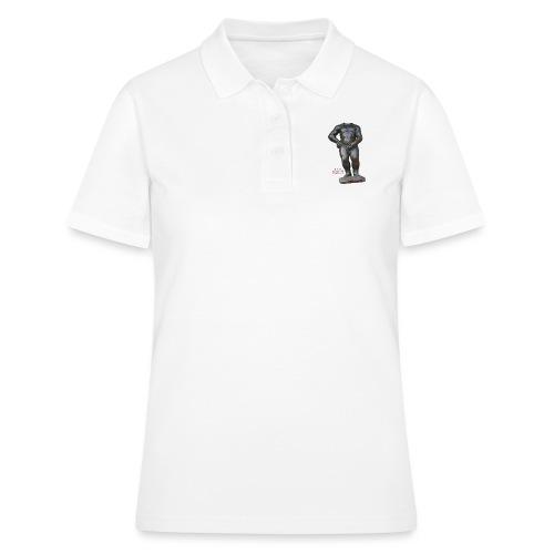 mannekenpis Real Big ♀♂   撒尿小童 - Women's Polo Shirt