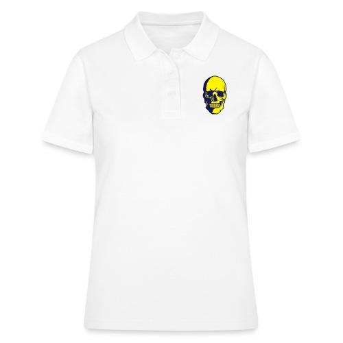 tete de mort crane halloween fantaisie 2 - Women's Polo Shirt