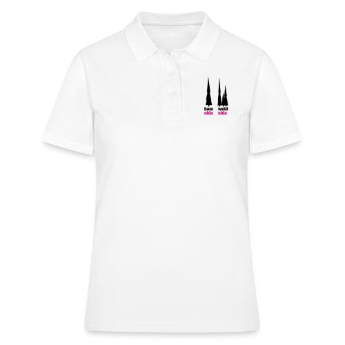 bam oida - woid oida - Frauen Polo Shirt