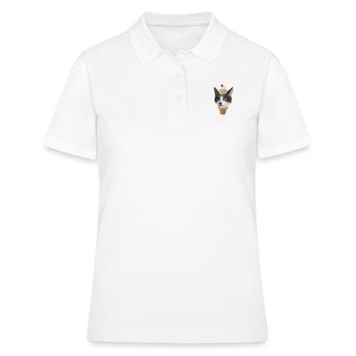Ice Cream Cat - Frauen Polo Shirt