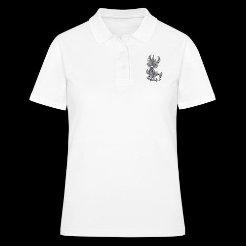 Pesce Tattoo Flash - Women's Polo Shirt