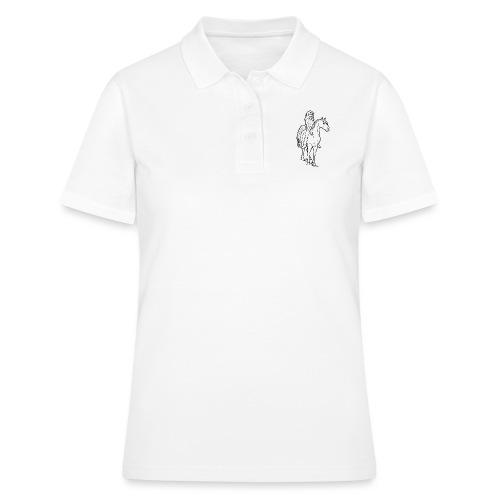 freie Reiterin - Frauen Polo Shirt