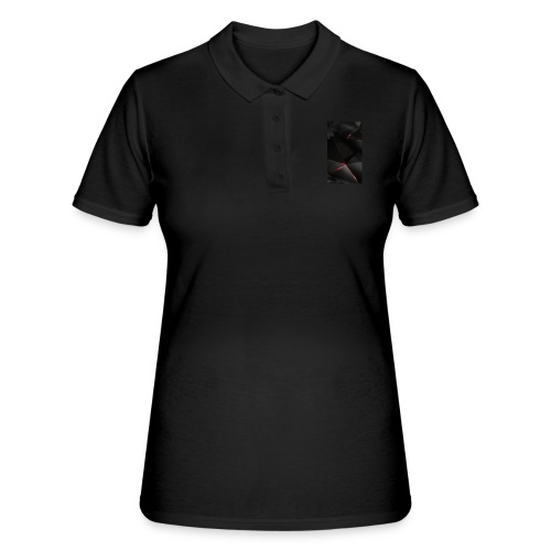 Hot Phone cover, Black red and grey - Women's Polo Shirt