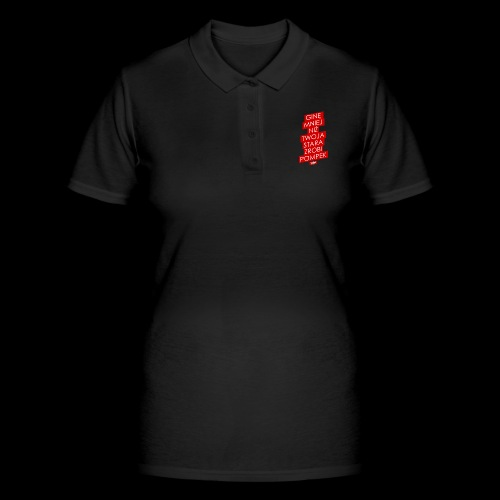 gine mniej - Women's Polo Shirt