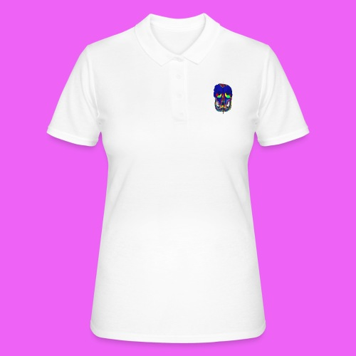 craneos 2 - Camiseta polo mujer