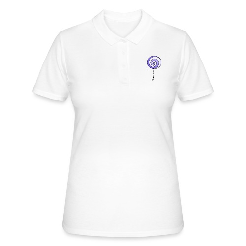 geringelter Lollipop - Frauen Polo Shirt