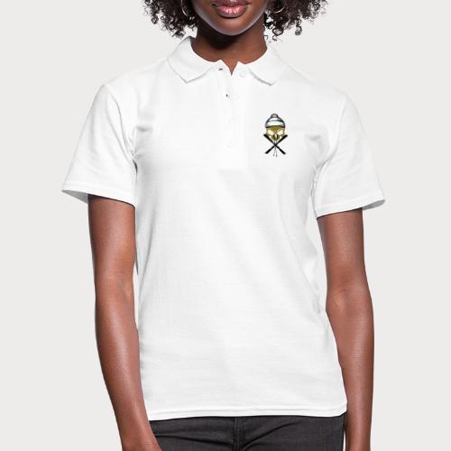ski skull1 - Frauen Polo Shirt