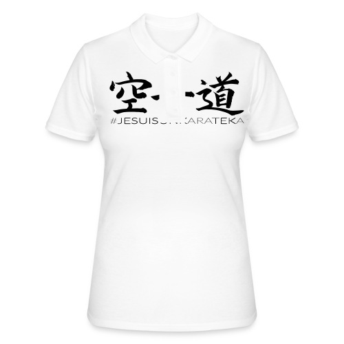 # Je suis un karateka - Women's Polo Shirt