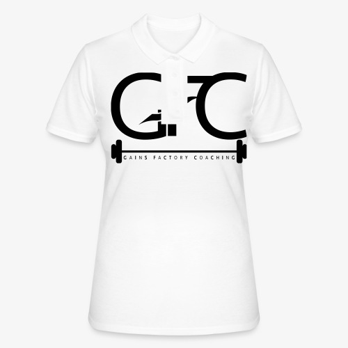 GAINS FACTORY COACHING - Frauen Polo Shirt