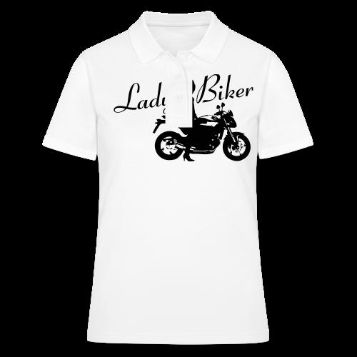 Lady Biker - Naked bike - Women's Polo Shirt