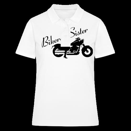 Biker Sister - Custom bike - Women's Polo Shirt