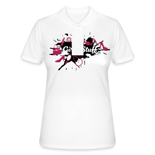 Girly Stuff - Motorcycle included - Women's Polo Shirt