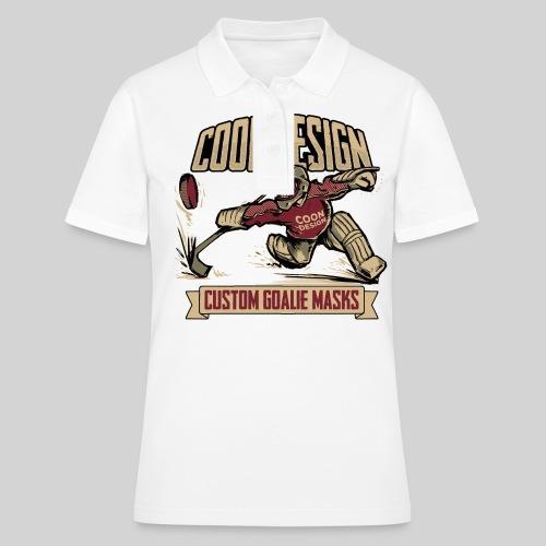 CoonDesign - Goalie - Frauen Polo Shirt