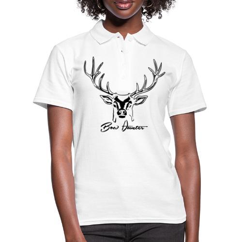hirsch bow hunter - Frauen Polo Shirt
