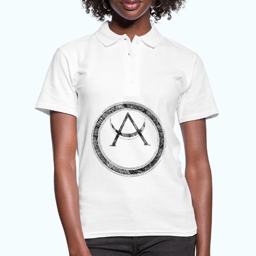 Mystic motif with sun and circle geometric - Women's Polo Shirt