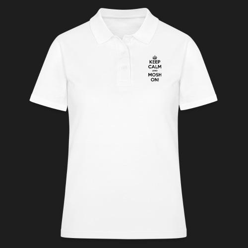 KEEP CALM AND MOSH ON! - Women's Polo Shirt