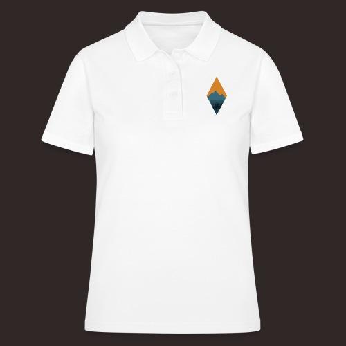 Berglandschaft | Raute Berg Baum - Frauen Polo Shirt
