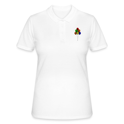 Party Ballons - Frauen Polo Shirt