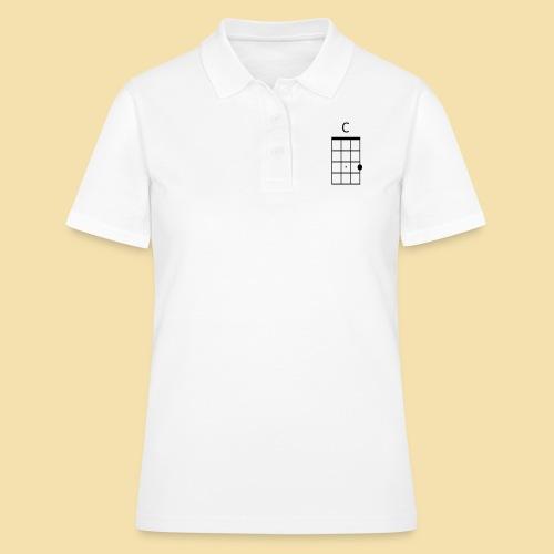 Ukulele C-Dur Akkordklein - Frauen Polo Shirt