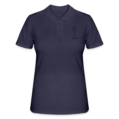 Keep calm and ... (F) - Women's Polo Shirt