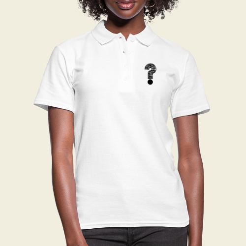Warum folgen - Design schwarz - Frauen Polo Shirt