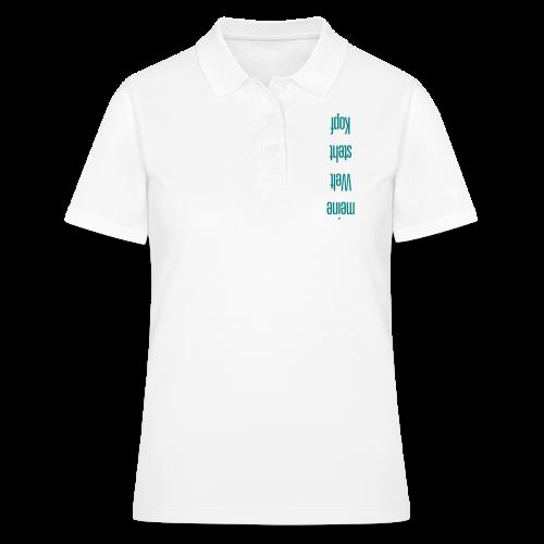 meine Welt - Frauen Polo Shirt