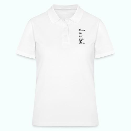 linksversifft - Frauen Polo Shirt