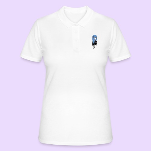 Not Kawaii, Just Psycho Girl - Women's Polo Shirt