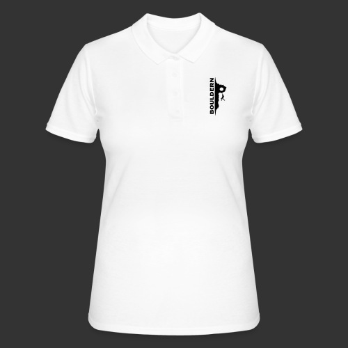 Bouldern - Frauen Polo Shirt