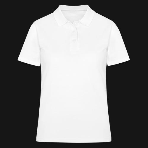 Walkeny Schriftzug vertikal in weiß - Frauen Polo Shirt