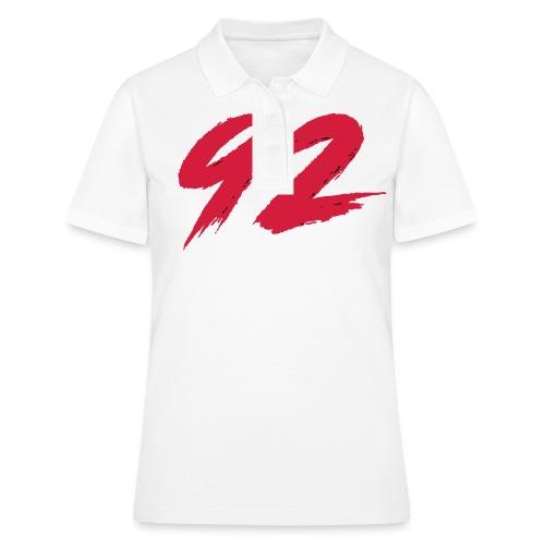 92 Logo 1 - Frauen Polo Shirt