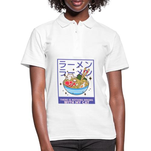There is nothing wrong with my cat - animal lovers - Polo Femme